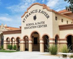St. Francis Xavier School Exterior